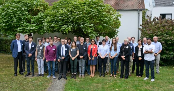 DROPIT Summer School participants at the closing event - 21.09.2018 -  University of Stuttgart (Germany)