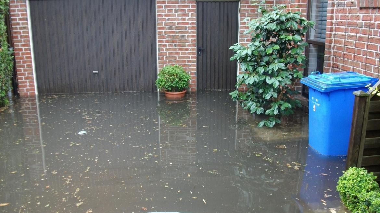 Überflutung in Olfen