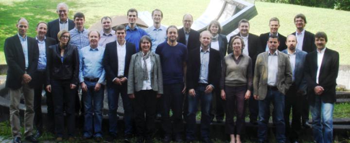 Gruppenfoto des SAMUWA-Teams