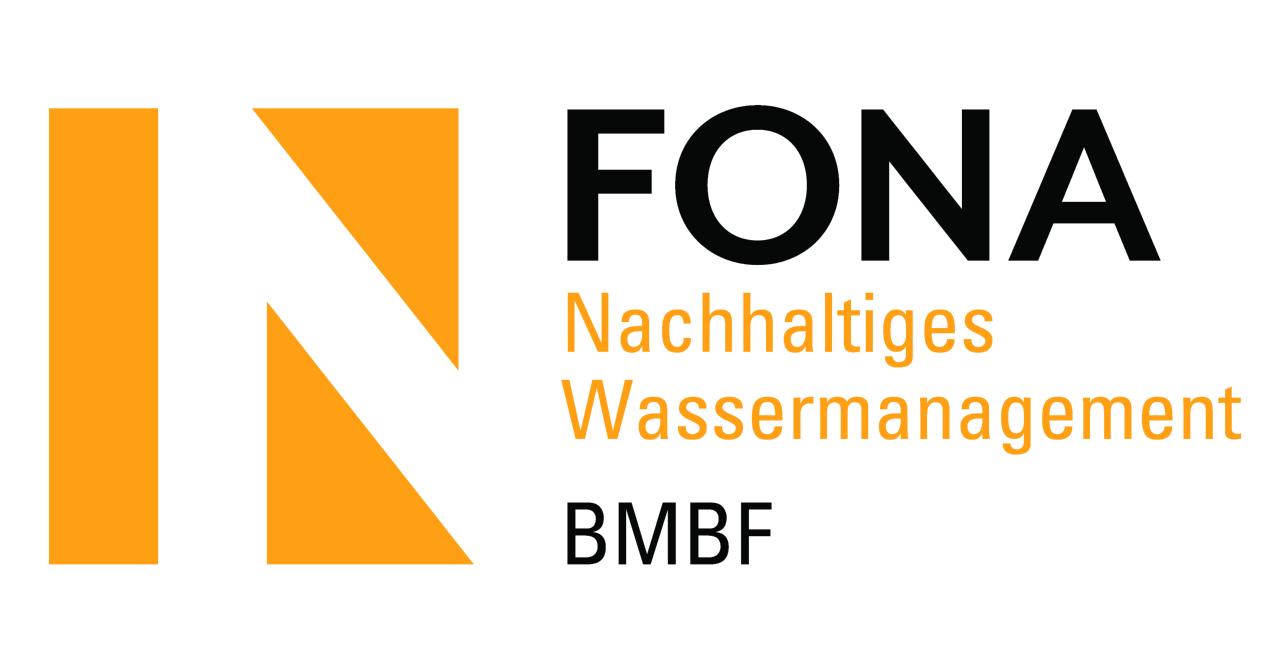 Logo FONA, Forschung für Nachhaltigkeit, nachhaltiges Wassermanagement BMBF